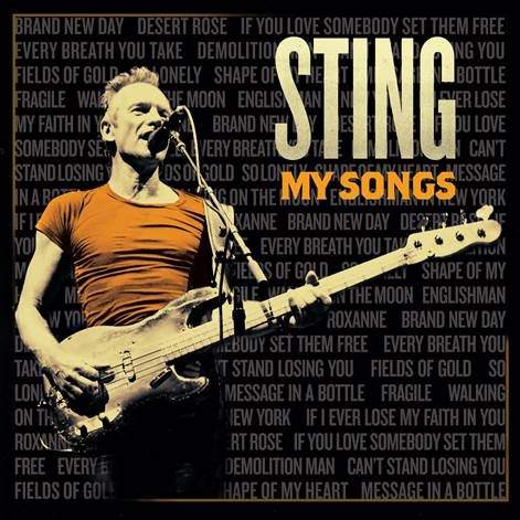 Okładka płyty Stinga \