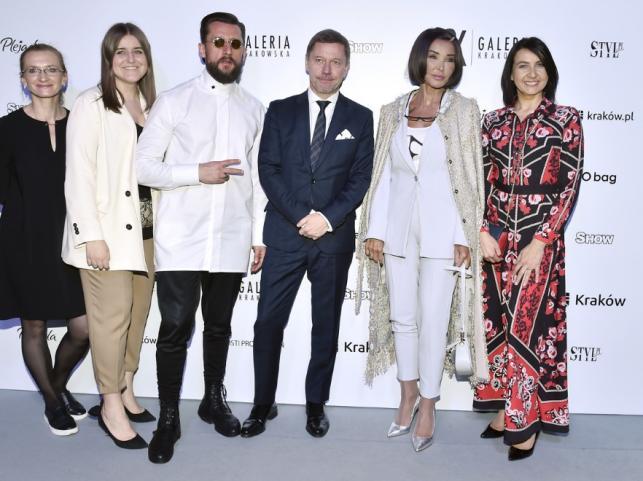 Eva Minge i inni goście Cracow Fashion Square 2019