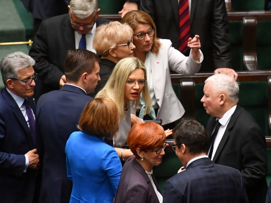 Małgorzata Wassermann i inni politycy PiS