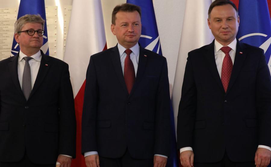 Pawel Soloch, Mariusz Blaszczak, Andrzej Duda