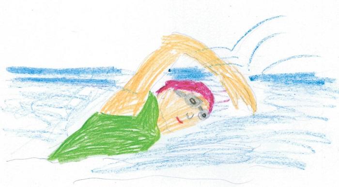 Rys. Ola Peranowska, lat 10