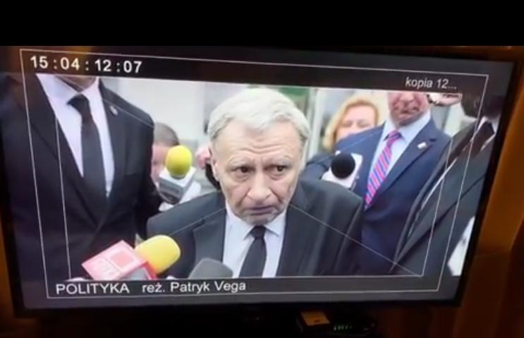 Andrzej Grabowski jako Jarosław Kaczyński w flmie \