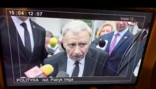 """Andrzej Grabowski jako Jarosław Kaczyński w flmie """"Polityka"""""""