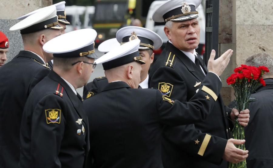 pogrzeb 14 marynarzy