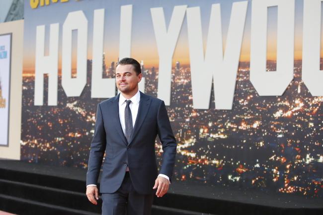 "Leonardo Di Caprio. Premiera filmu ""Pewnego razu... w Hollywood"""