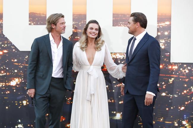 """Brad Pitt, Margot Robbie i Leonardo DiCaprio. Premiera filmu """"Pewnego razu... w Hollywood"""""""