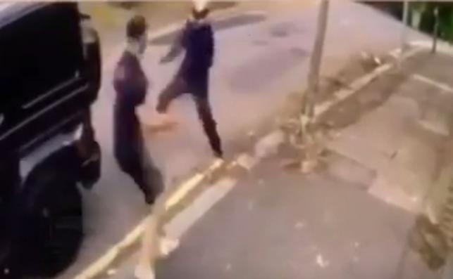 Kadr z nagrania wideo