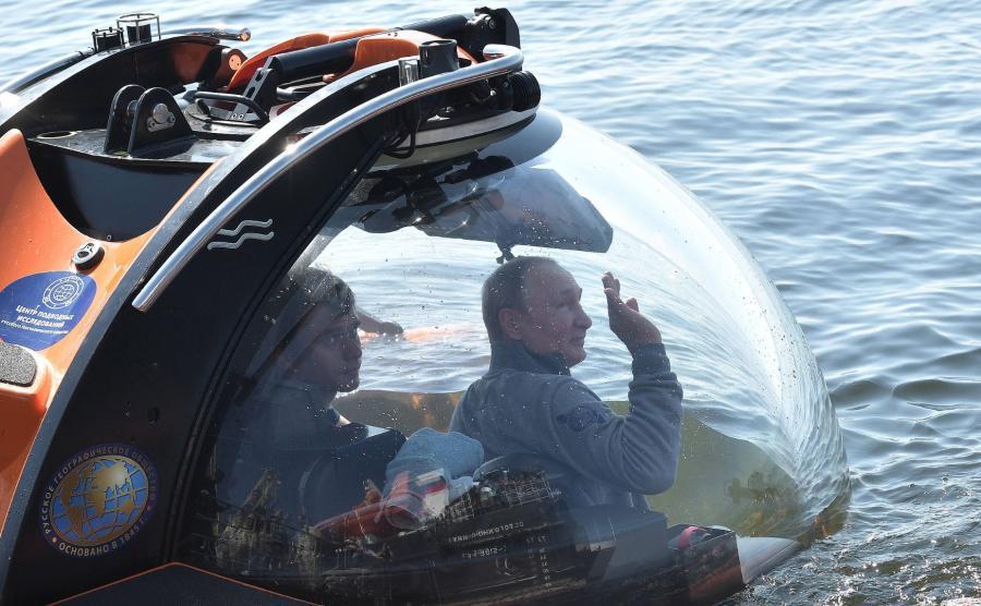 Podwodna wyprawa Putina