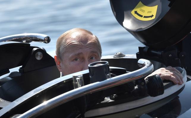 Putin w batyskafie