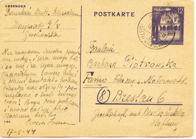 List Ireny Faryaszewskiej