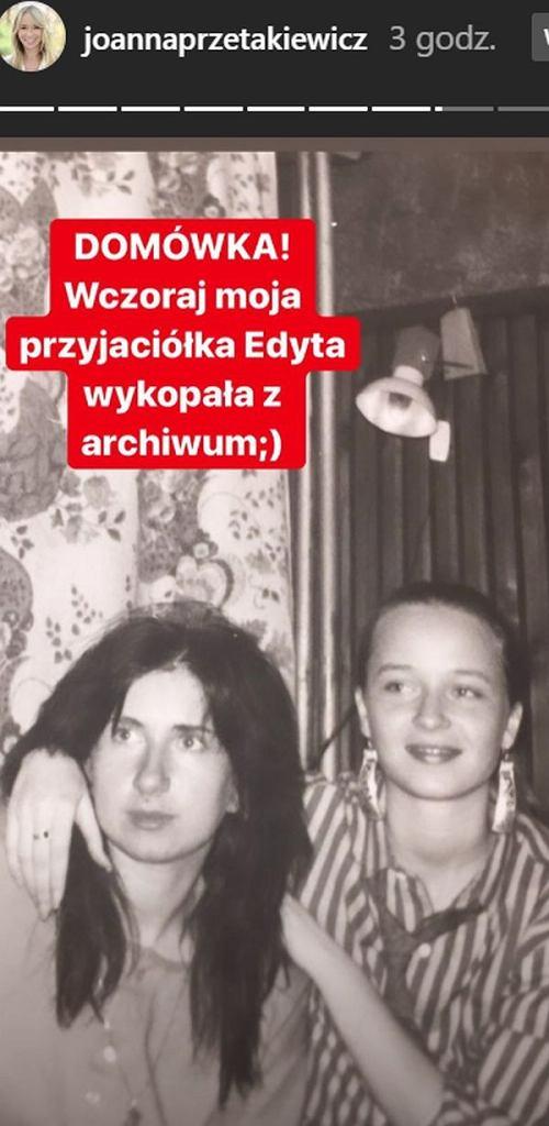 Joanna Przetkiewicz jako nastolatka