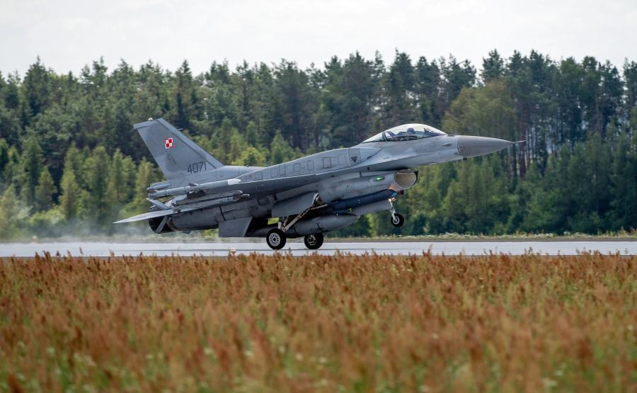 F-16 w Łasku