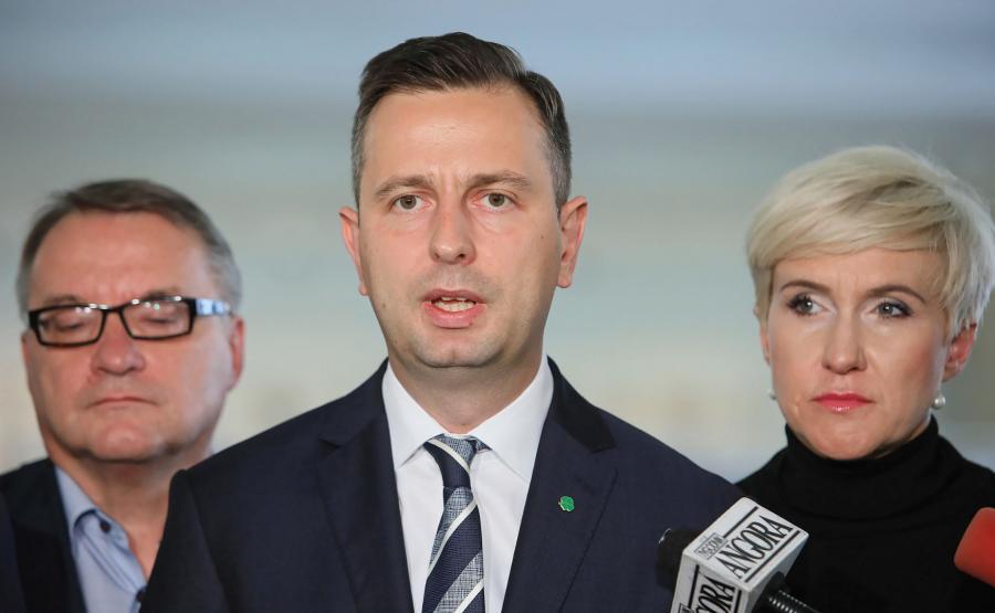 Władysław Kosiniak-Kamysz, Urszula Pasławska, Marek Biernacki