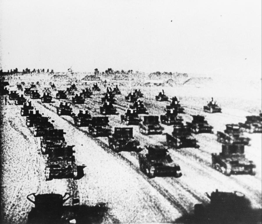 Sowieckie czołgi w Polsce
