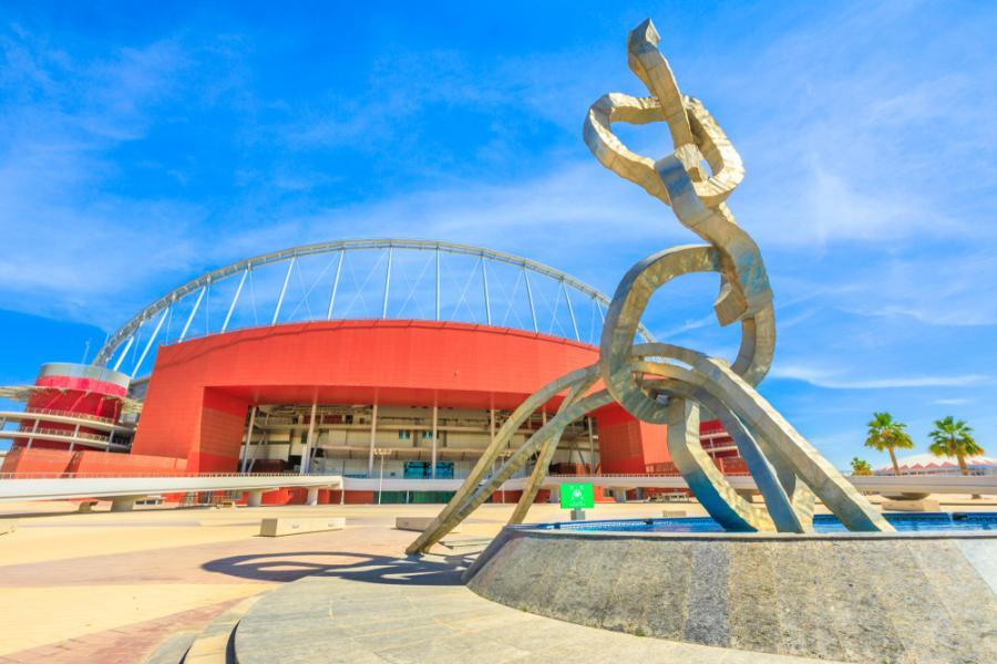 Klimatyzowany stadion w Dosze