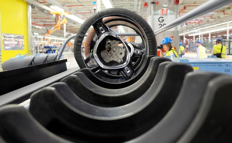 Fabryka VW w Białężycach k. Wrześni