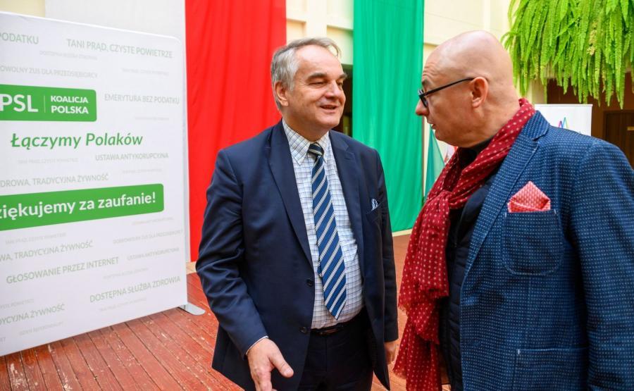 Waldemar Pawlak, Michał Kamiński