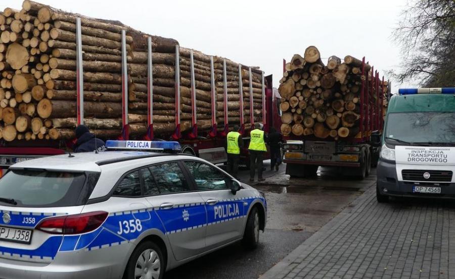 Kontrola ciężarówek