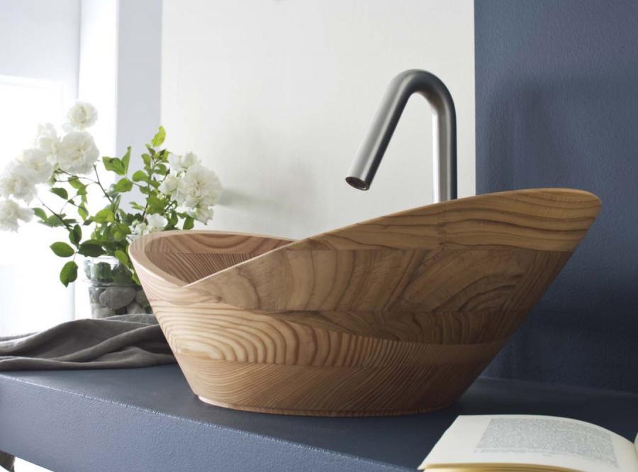 Drewna jest doskonałym elementem ocieplającym i relaksującym.
