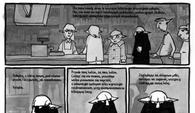 Pan Blaki powiesc graficzna Foto: Wydawnictwo Znak