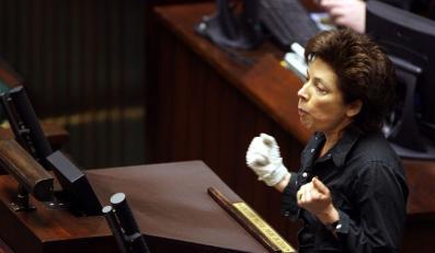 Nelli Rokita bije w Kluzik-Rostkowską