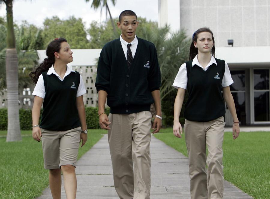 Tak ubierają się uczniowie