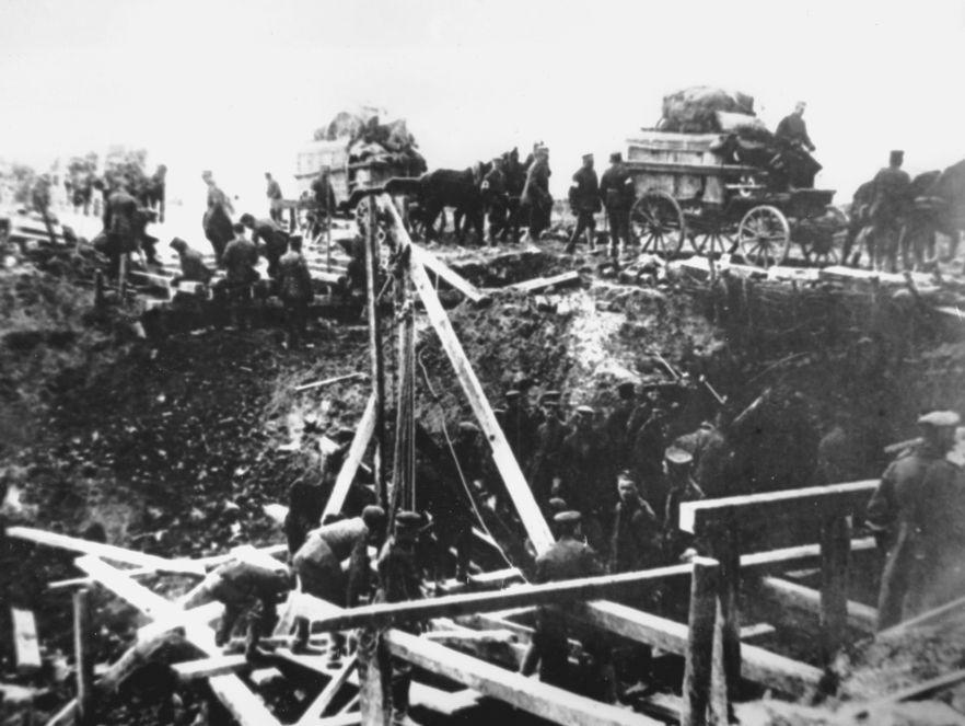 Koniec I wojny światowej. Niemcy spłacili długi