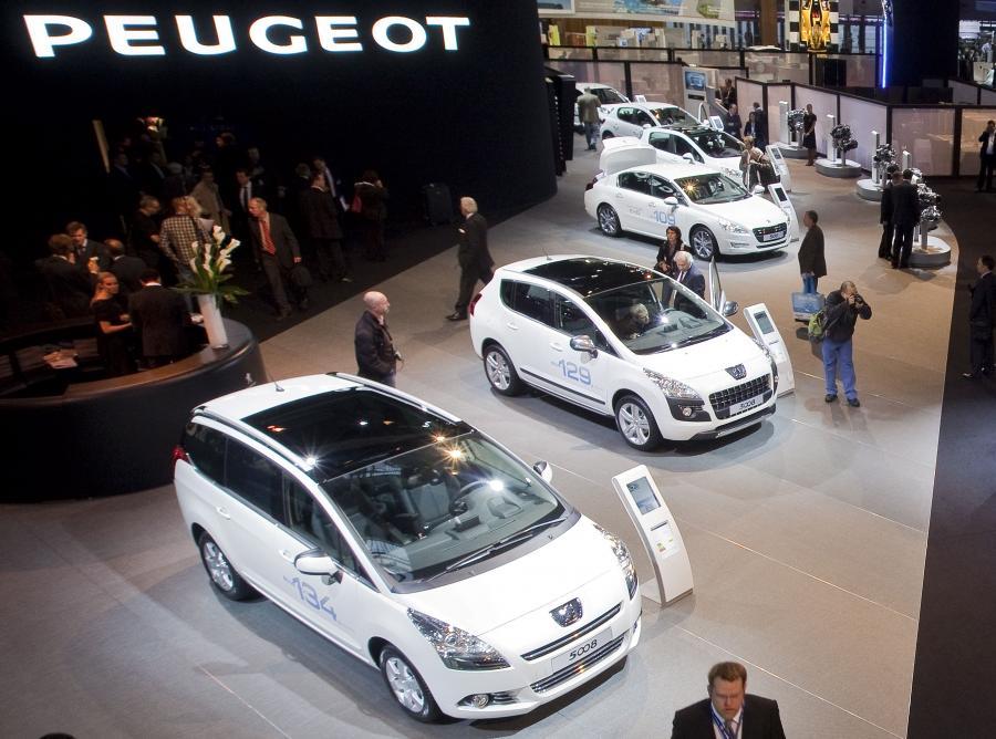 Showroom Międzynarodowego Salonu Samochodowego w Paryżu