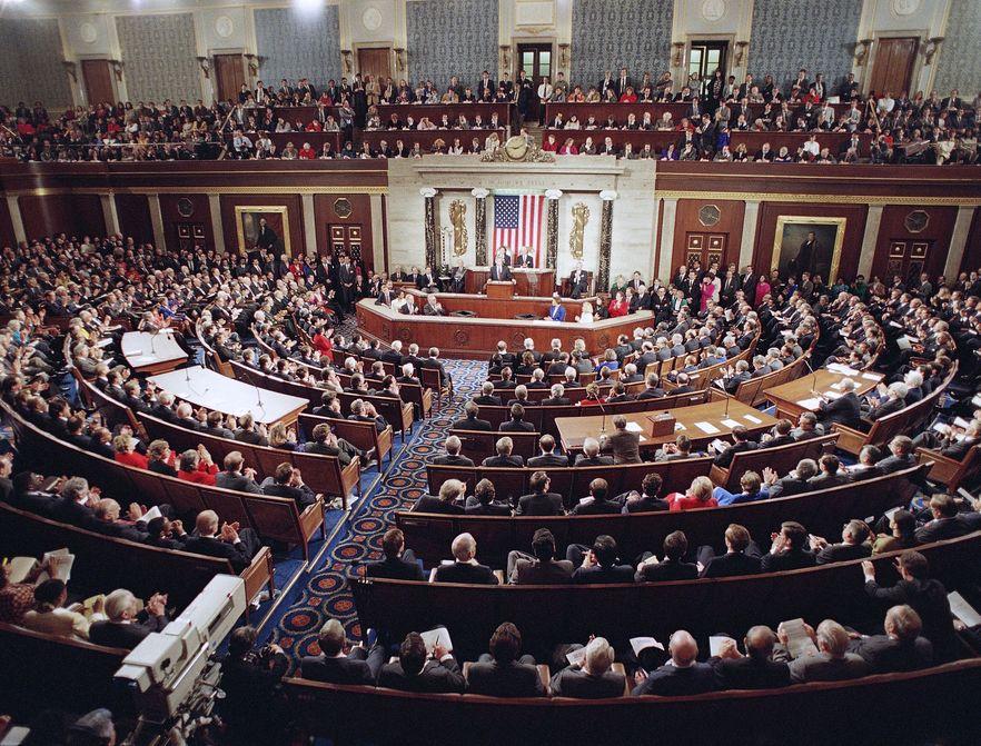 Kongres USA na urlopie. A budżetu brak
