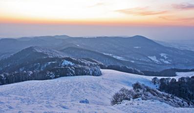 Góry zimą