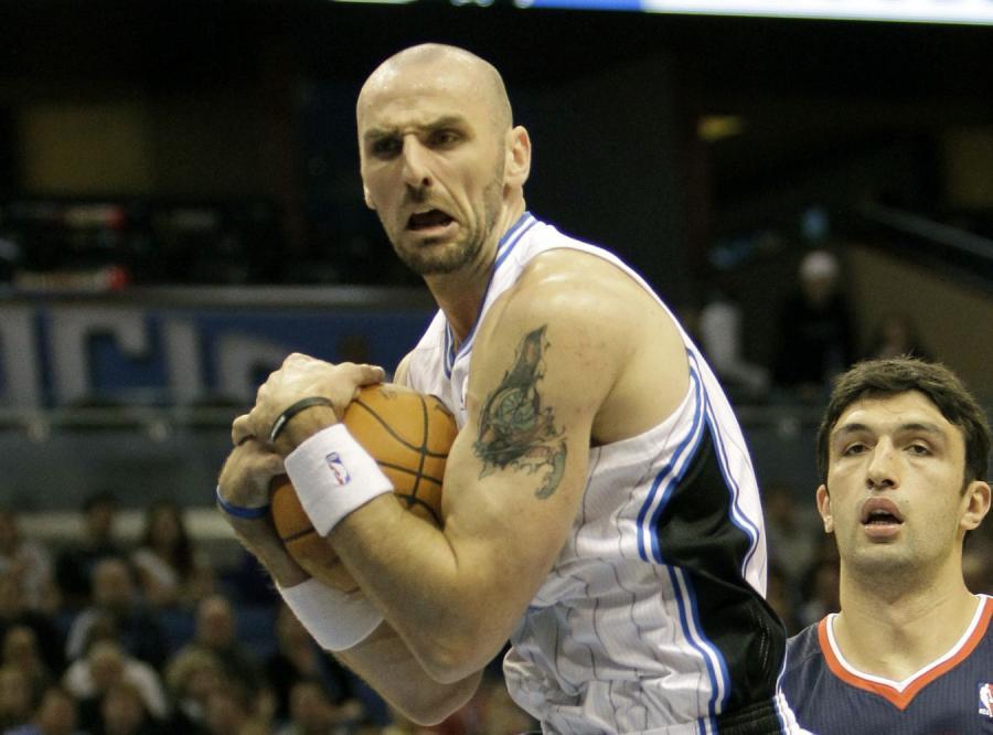 Marcin Gortat grał w meczu z Chicago Bulls raptem 14 minut
