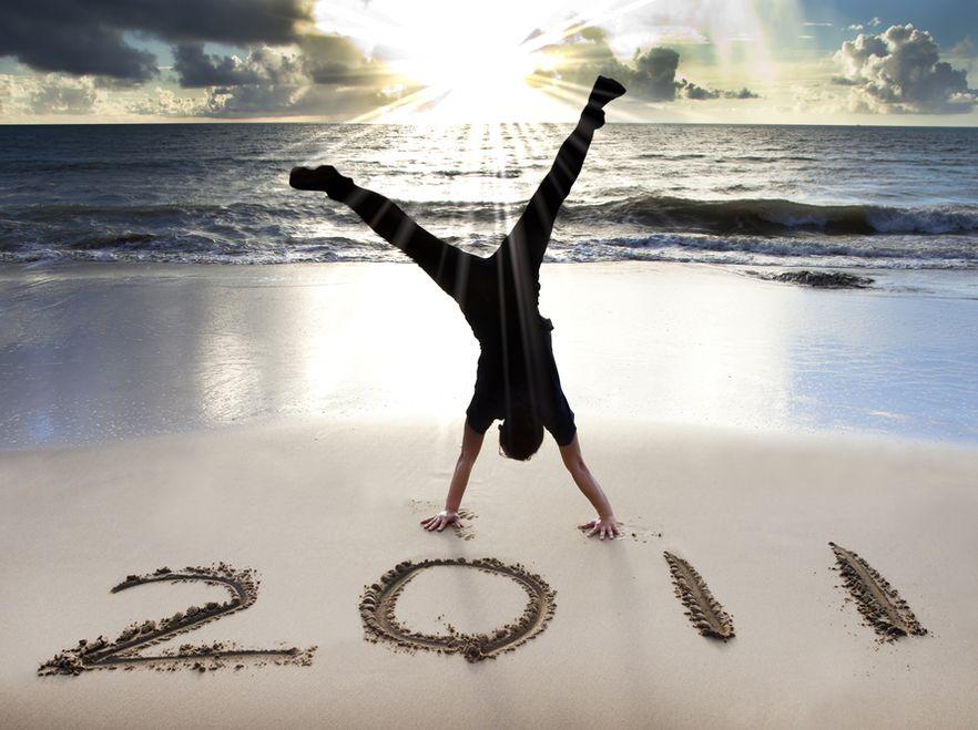 Ponia noworoczne dają siłe na realizację celów