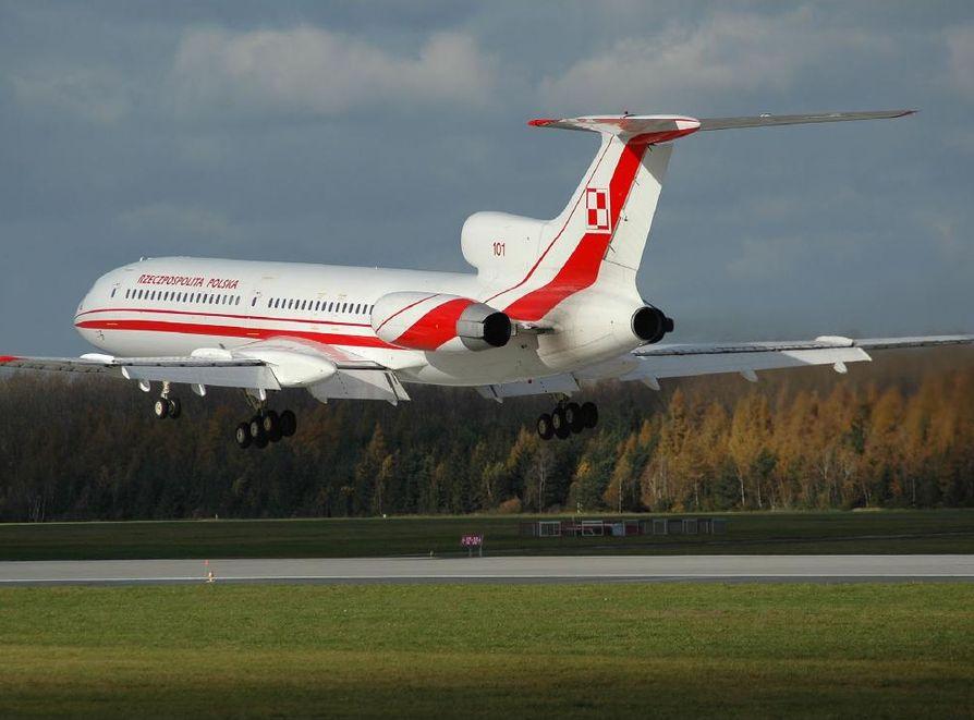 Symulacja na Tu-154 - bez odwzorowywania warunków ze Smoleńska
