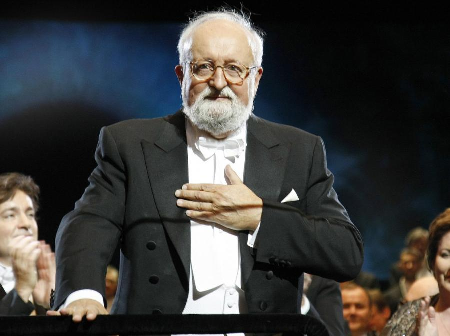 Prawykonanie cyklu pieśni Krzysztofa Pendereckiego zakończy obchody Roku Chopinowskiego