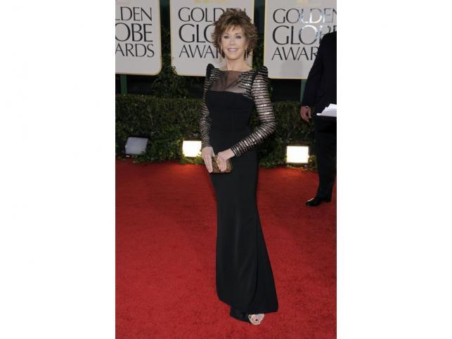 Jane Fonda – kobieta, dla której czas stanął w miejscu. Nienaganna sylwetka, piękna twarz I charakterystyczny styl to jej atuty