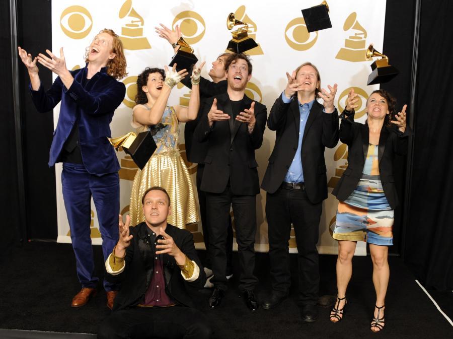 Zdobywcy Grammy Arcade Fire