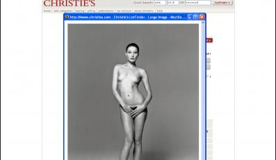 Naga fotka żony prezydenta na aukcji Christie's