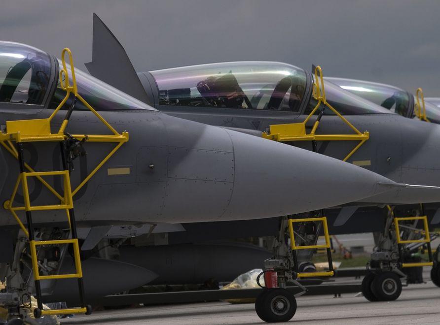 Myśliwce Gripen