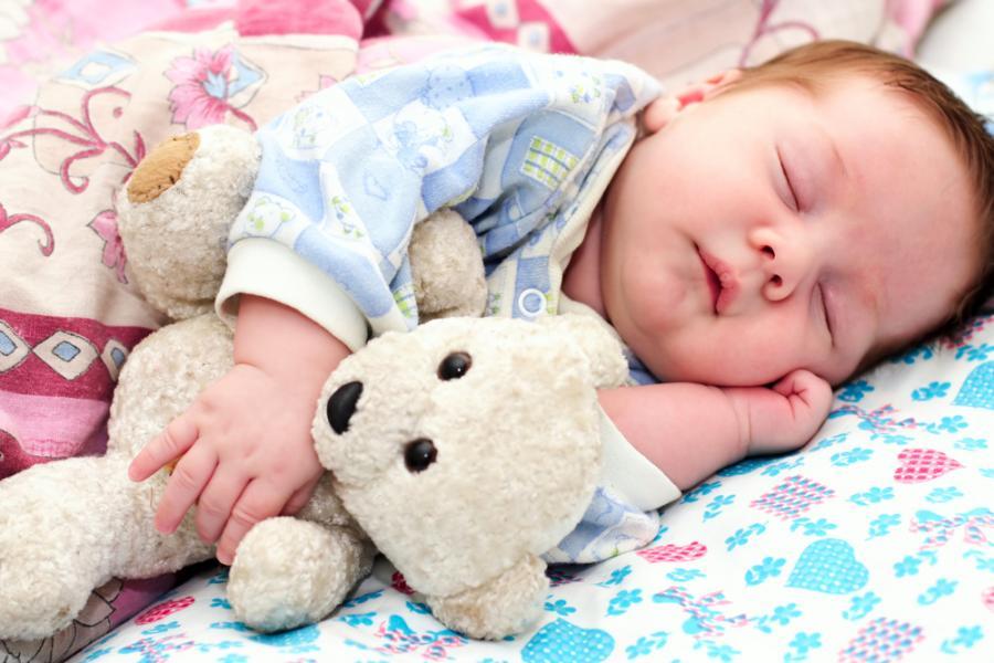 Sen odgrywa ważną rolę w rozwoju dziecka