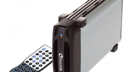Dysk Plextora podłączysz do telewizora