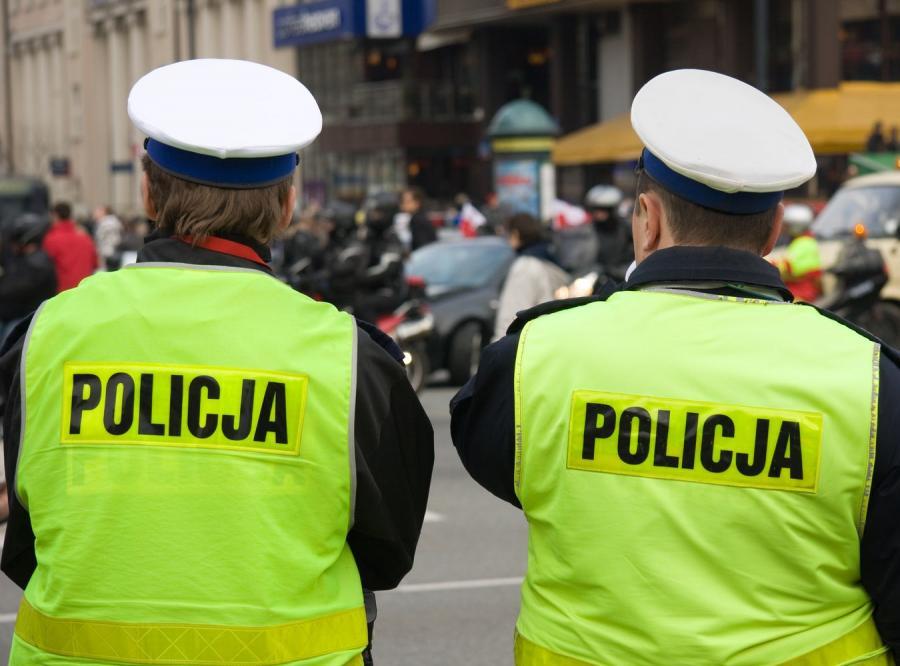 Policjanci drogówki
