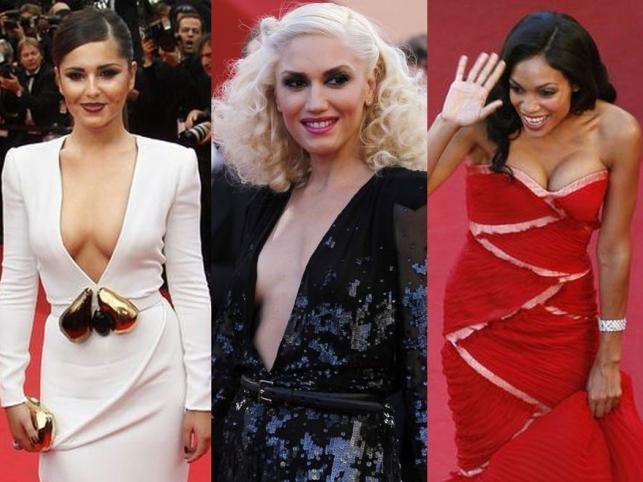 Najpiękniejsze dekolty gwiazd w Cannes