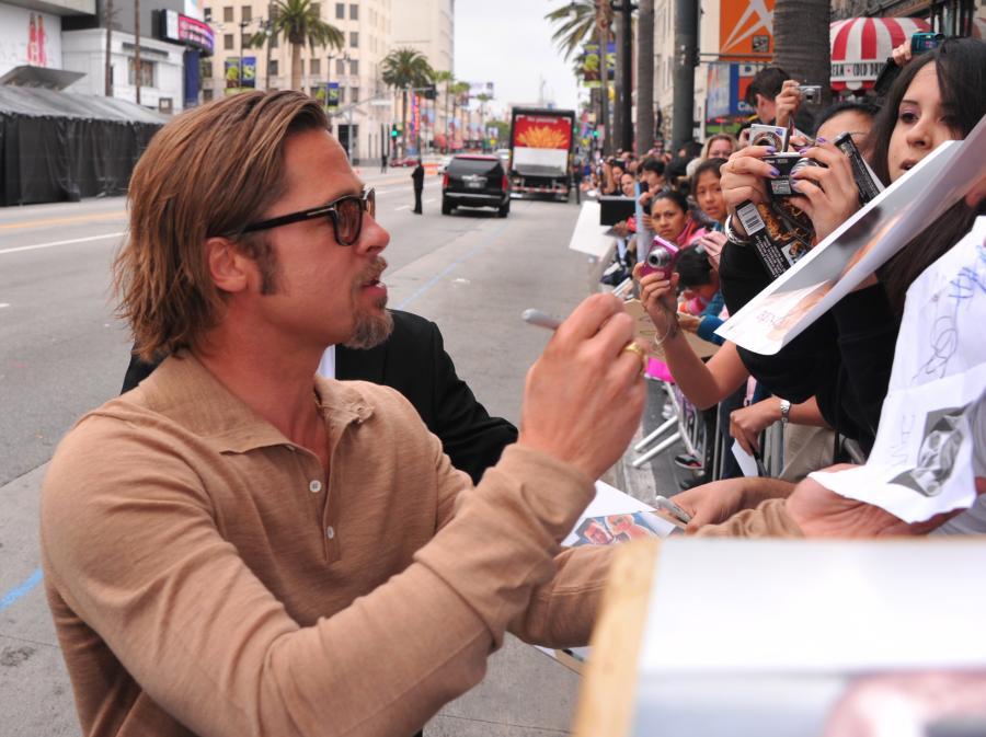 Brad Pitt –przystojny, słynny i odważny