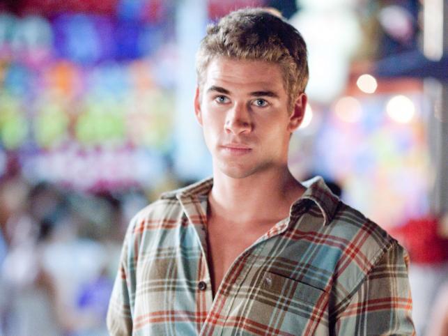 """5. Liam Hemsworth pojawił się w filmie """"Ostatnia piosenka"""""""