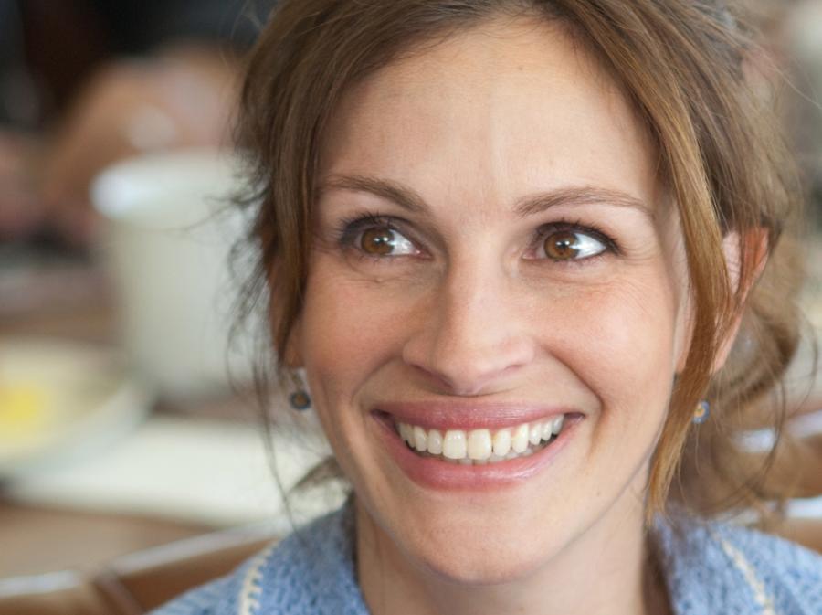 Julia Roberts sławna, bo zawsze uśmiechnięta