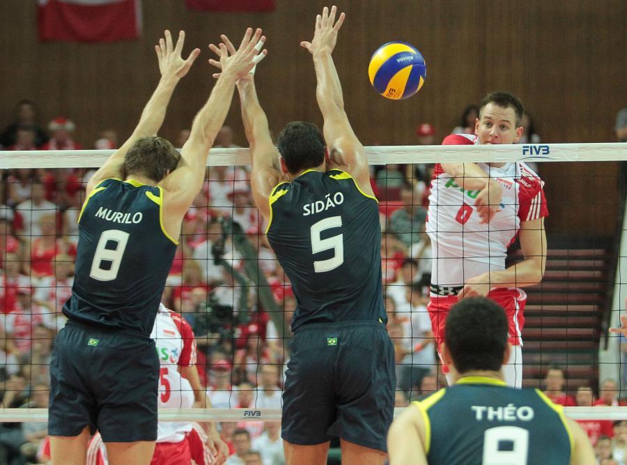 Bartosz Kurek miał problem z przebiciem się przez brazylijski blok