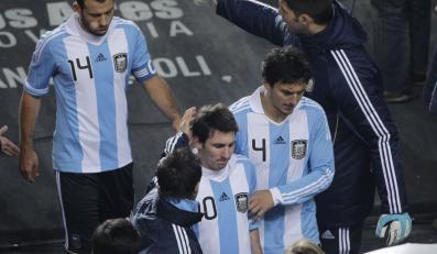 Gwiazdy Argentyny zawiodły