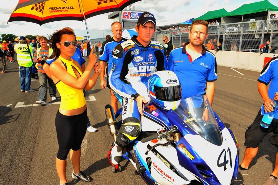 Gregory Junod na półmetku sezonu Wyścigowych Motocyklowych Mistrzostw Polski jest liderem klasyfikacji generalnej w klasie Superbike