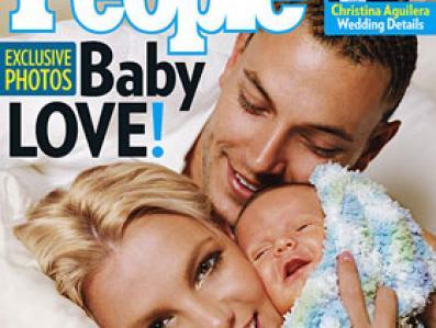 Britney i Kavin Federline z synem Seanem Prestonem warci byli dla magazynu \