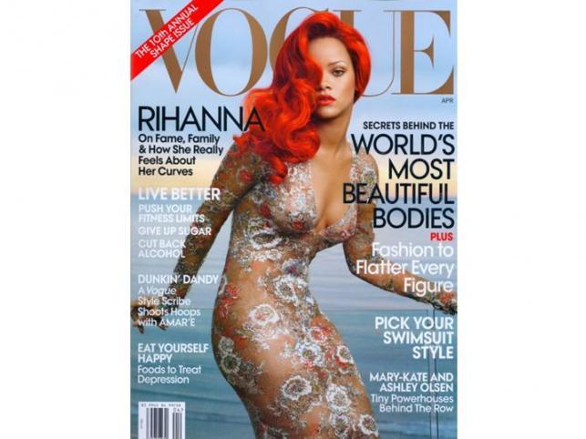 Rihanna została nową twarzą domu mody Armani